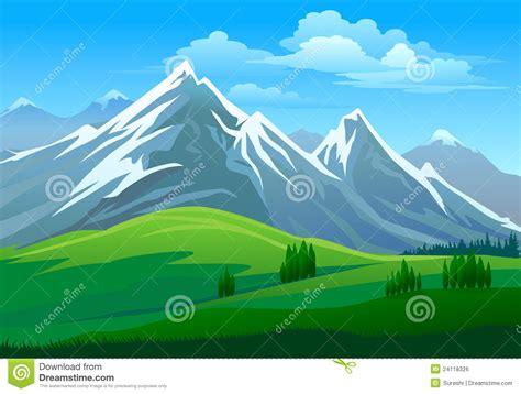 mountain clipart mountain valley clipart