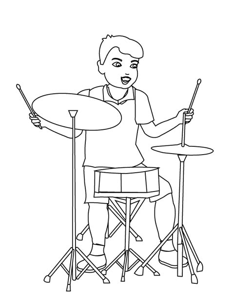 coloring pages drummer boy coloring pages drummer boy