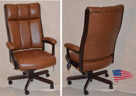 Amish Desk Chair by Amish Office Furniture Jasens Furniture