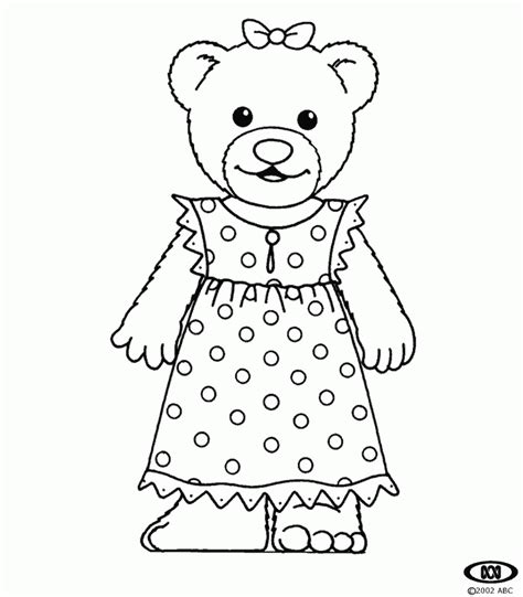 teddy bear in pajamas coloring page bananas in pyjamas coloring pages free printable pictures