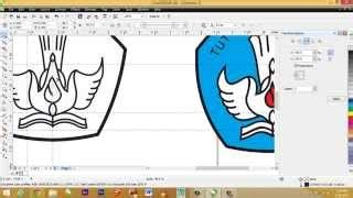 tutorial wpap dengan corel x4 tutorial desain baju corel draw x4 part1 video