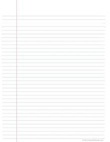 Product Paper Template by Printable Notebook Paper Print Paper Templates