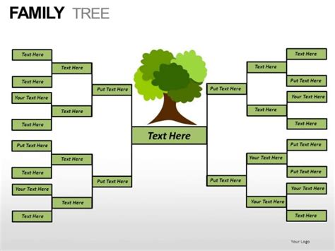 family tree chart template powerpoint free blank chart templates calendar template 2016