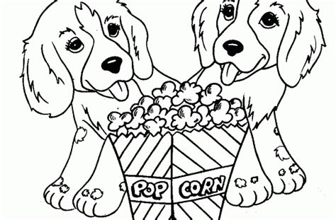 coloring pages of dogs cats and horses tag for pictures of kittens and puppies to color