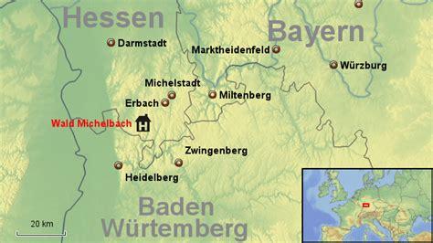 Motorradtouren Im Odenwald by Odenwald Keeper8964 Landkarte F 252 R Deutschland