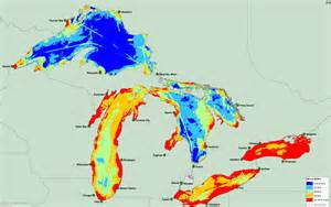 Michigan Great Lakes Map by Researchers Map 34 Threats To The Great Lakes Michigan Radio