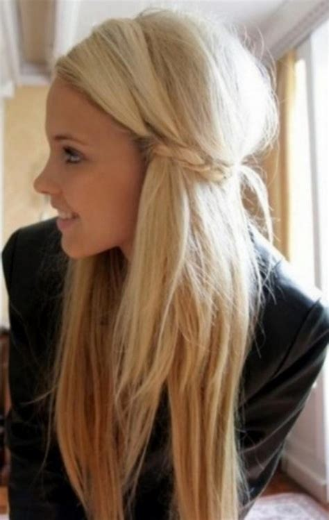 cute hairstyles for girls with blonde hair blended blonde messy mane for rock chick rebels