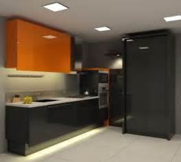 floor to ceiling storage cabinets with doors small modern kitchen features floor to ceiling black