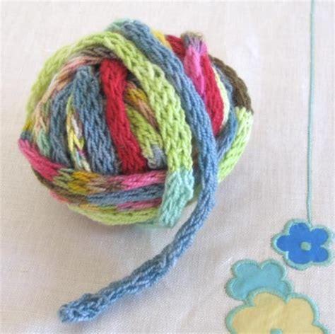 how to make i cord knitting i cord yarn