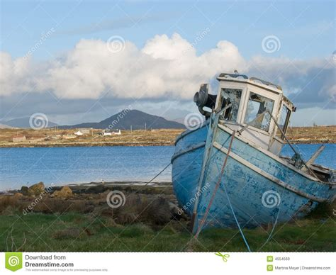 old fishing boats ireland old fishing boat in ireland stock image image 4554569