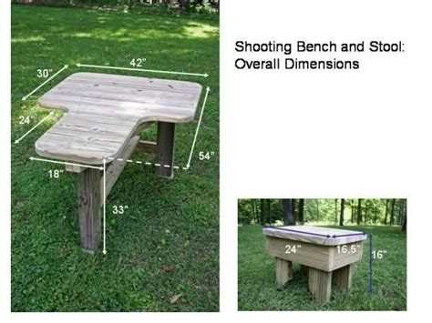 how to make shooting bench 17 best ideas about shooting bench plans on pinterest