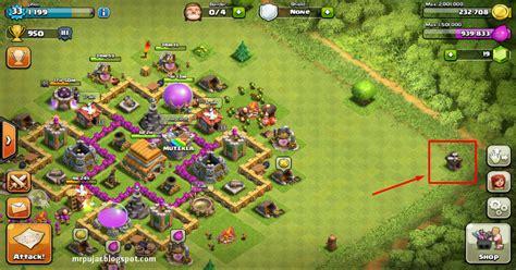 desain gambar coc membuat war dan trophy base th level 6 coc yang lebih kokoh
