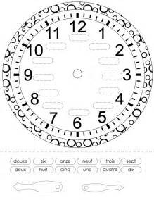 worksheets french time