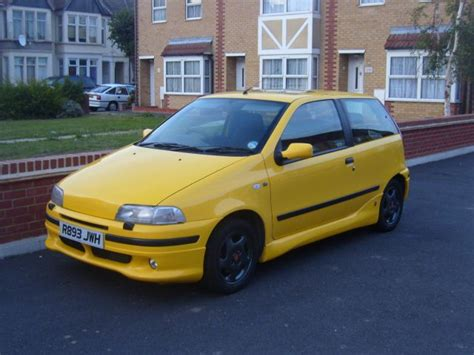 yellow fiat punto cars inspiration fiat punto sporting yellow