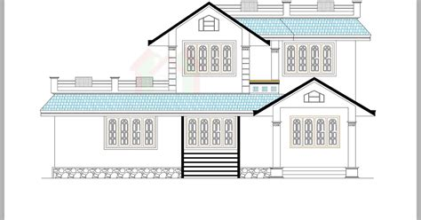 Price To Draw Original Home Floor Plan 1870 Sq Feet I by Architecture Kerala Beautiful House Elevation With Its