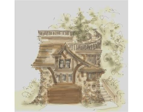 hobbit house plan hobbit house plan dreams pinterest
