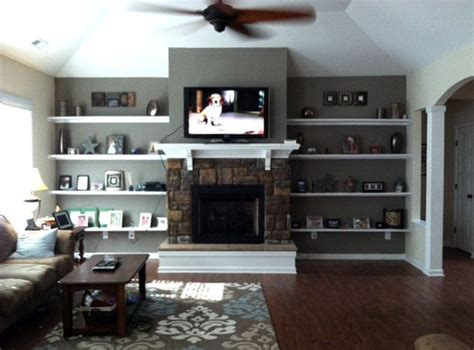 shelves next to fireplace 1000 images about for the home on shelves cabinet door storage and platform bed