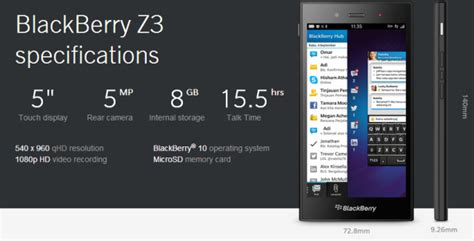 Hp Blackberry Z3 harga blackberry jakarta info android black hairstyle and haircuts