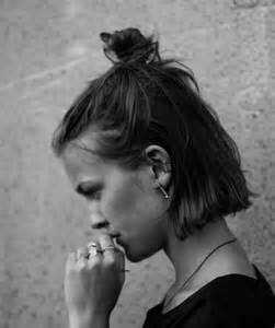 half bun hair hairstyles for short hair you can t miss stylecaster