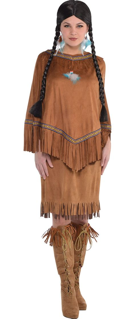 party city indian halloween costumes create your own women s native american costume