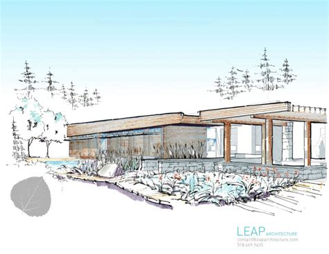 design concept nature architecture leap sustainable architect designs nature center leap