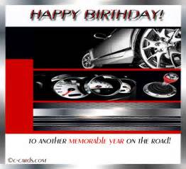 car driver s birthday free birthday wishes ecards