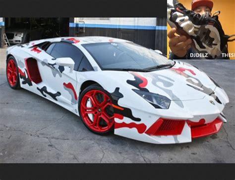 Camo Lamborghini The Sneaker Addict Chris Brown S Fighter Jet Foosite