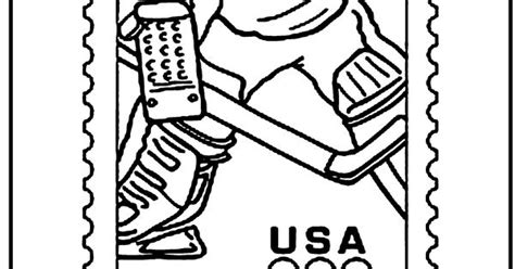 olympic hockey coloring pages olympic hockey coloring page kids activities pinterest