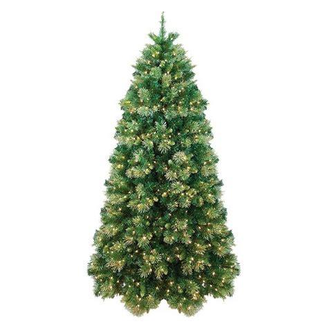 7ft pre lit gold tip cashmere pine christmas tre target