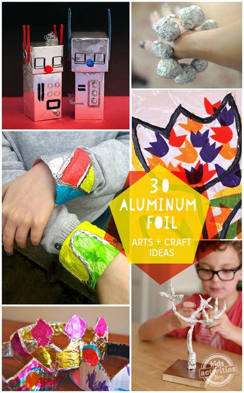aluminum foil crafts for 30 aluminum foil crafts activities