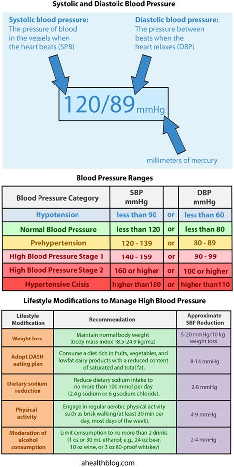 blood pressure chart easy to understand blood pressure chart and quiz