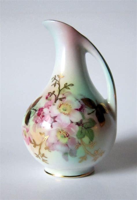 Porcelain Vase Schumann Arzberg Porcelain Wild Rose Bud Vase Schumann