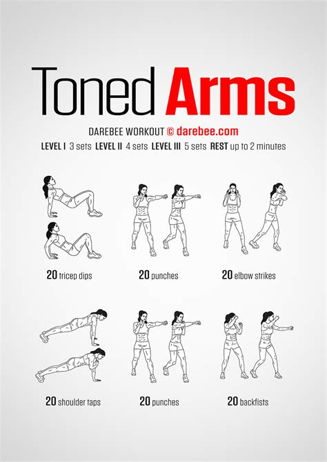 how to get toned arms toned arms workout