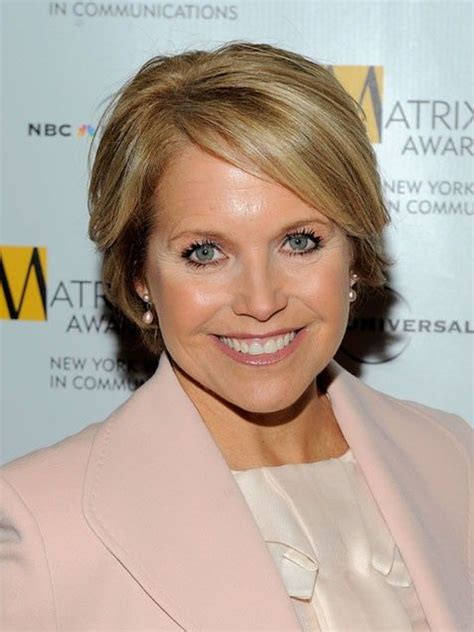 hairstyles of katie couric cute short hairstyles katie couric favorite hair styles