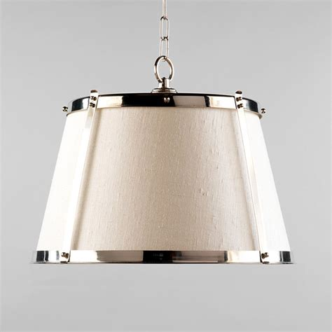 Houzz Pendant Lights Vaughan Nickel Hanging Shade Traditional Pendant Lighting By Vaughan Designs