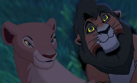 Gamis Kiara the king images kovu and nala looking at the