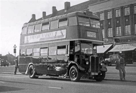 aec regent  bus stl london bus museum