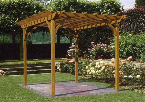 garden pergola construction  woodworking