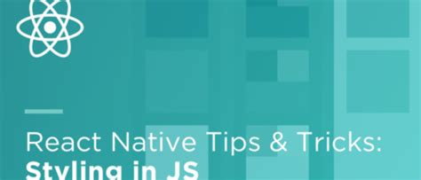 design pattern react native react native tips and tricks styling in js