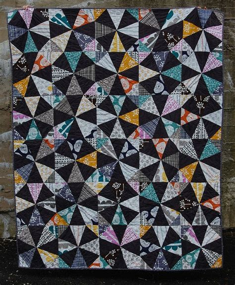Kaleidoscope Patchwork Quilt - 129 best quilts kaleidoscope images on
