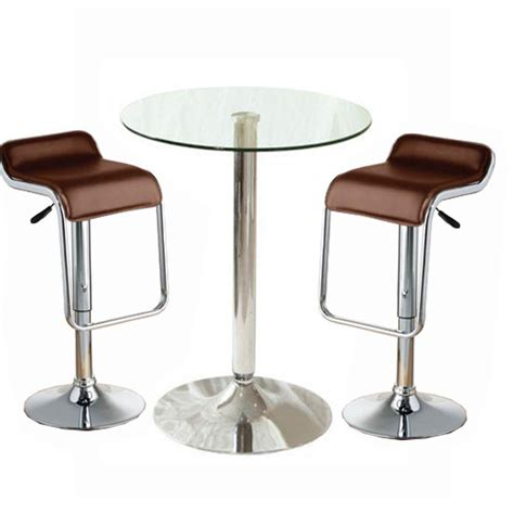 Glass Bar Table Furniture And Amenities Encouraging Better Guest Experience
