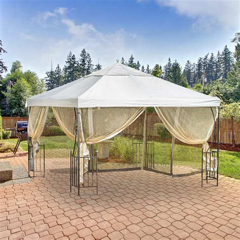 replacement canopy for salerno gazebo riplock 350 garden