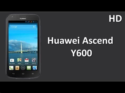 Hp Huawei Ascend Y600 huawei ascend y600 introduced comes with 5 inch fwvga touch display 1 3 ghz dual processor