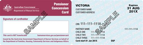 Concession Card Template motor vehicle registration vehicle ideas
