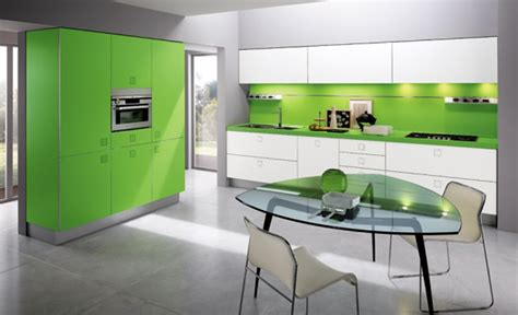 modern kitchen idea green kitchen design ideas