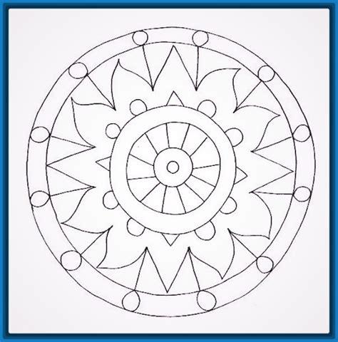 imagenes de mandalas faciles a color mandalas para ni 241 os para imprimir y colorear dibujos de