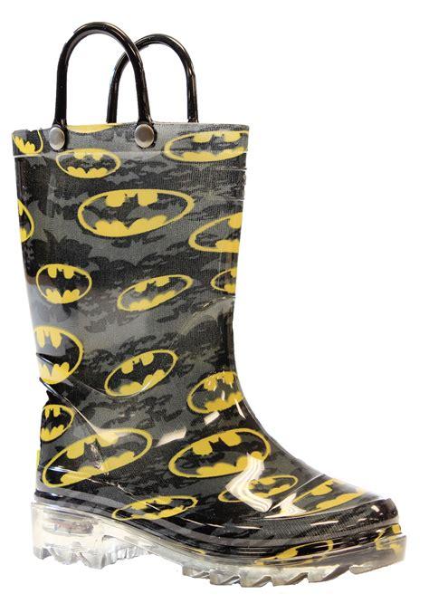 batman rainboots batman child light up rainboots