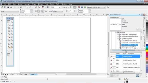 youtube tutorial coreldraw x5 corel designer technical suite x5 tutorial diagramming