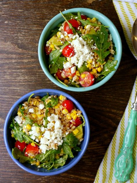 Summer Kitchen Salads kitchen sink summer farro salad my bacon wrapped