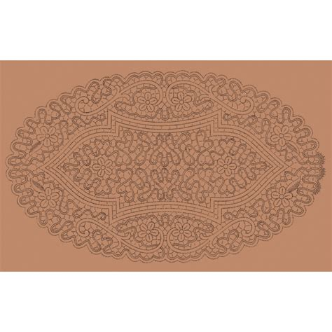 il giardino dei punti tombolo ovale mimosa n 054 il giardino dei punti circolo di